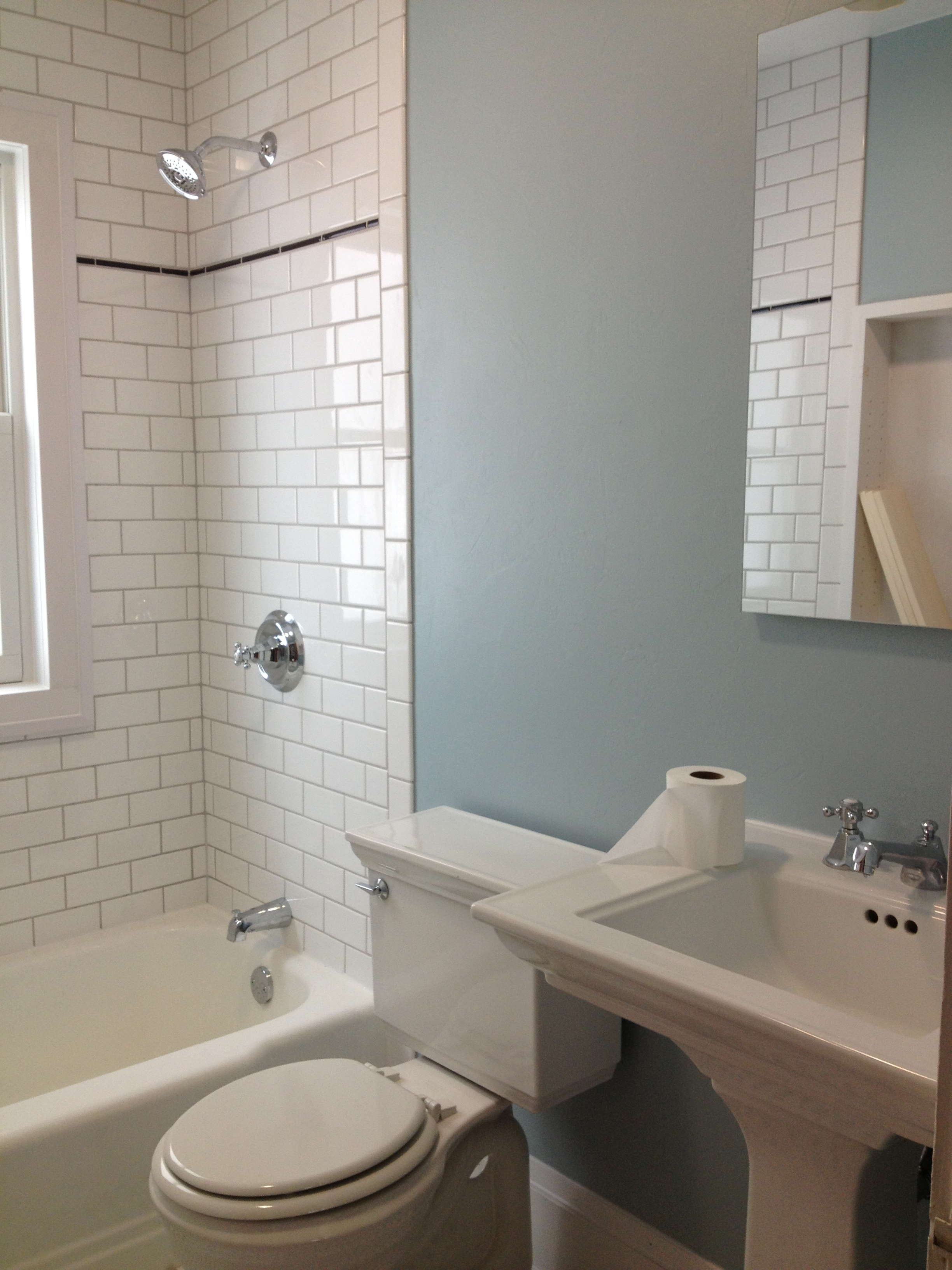 old fashioned bathroom - eric's custom carpentry